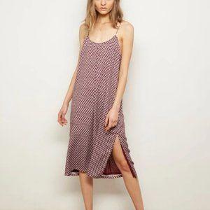 The Odells Anya Purple Floral Slip Dress S